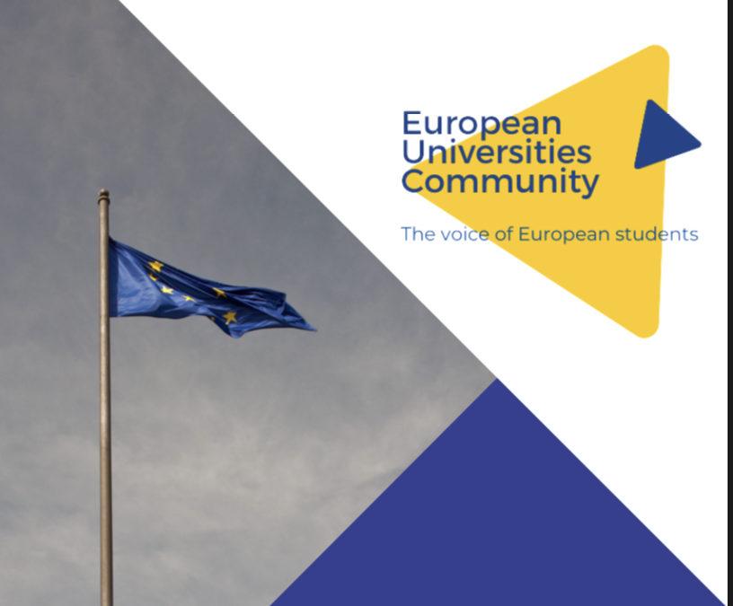 European Universities Community: Réunion sur l'avenir